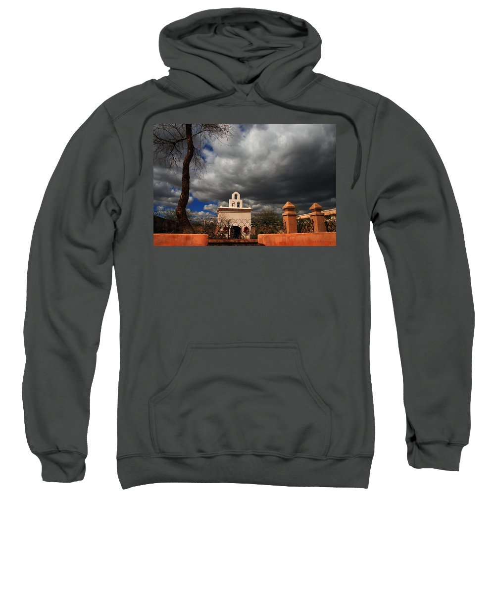 Photography Sweatshirt featuring the photograph The Chapel by Susanne Van Hulst