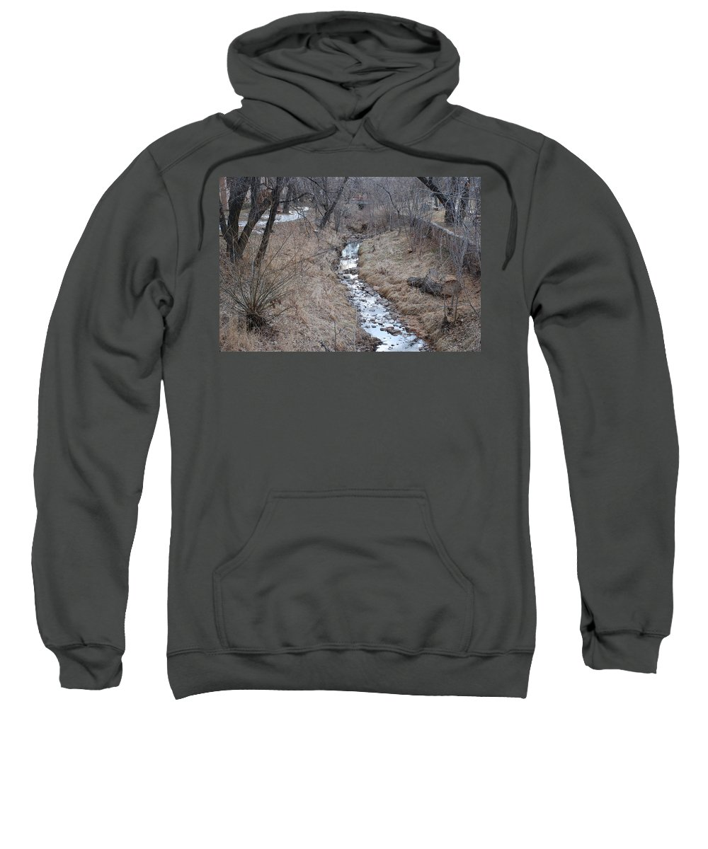 Water Sweatshirt featuring the photograph The Creek by Rob Hans