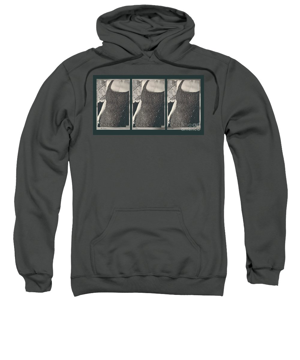 Sweatshirt featuring the photograph The Curve Of The Hip by Heather Kirk