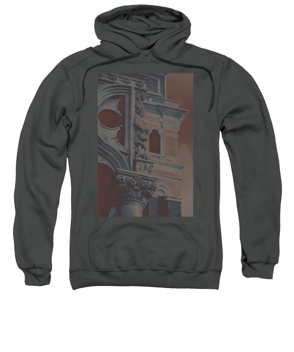France Sweatshirt featuring the photograph The Depression by Robert Meanor