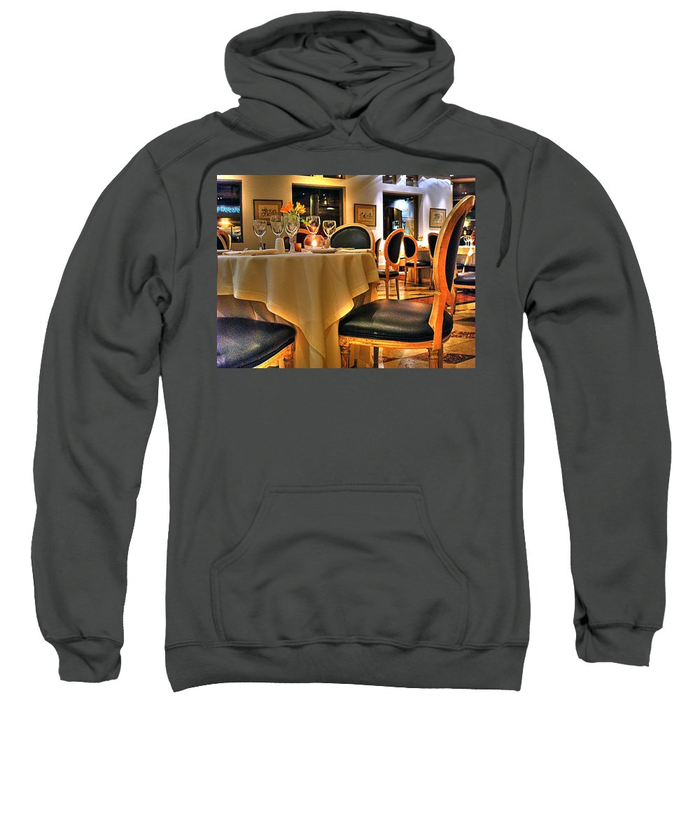 Chair Sweatshirt featuring the photograph The Empty Chair by Francisco Colon