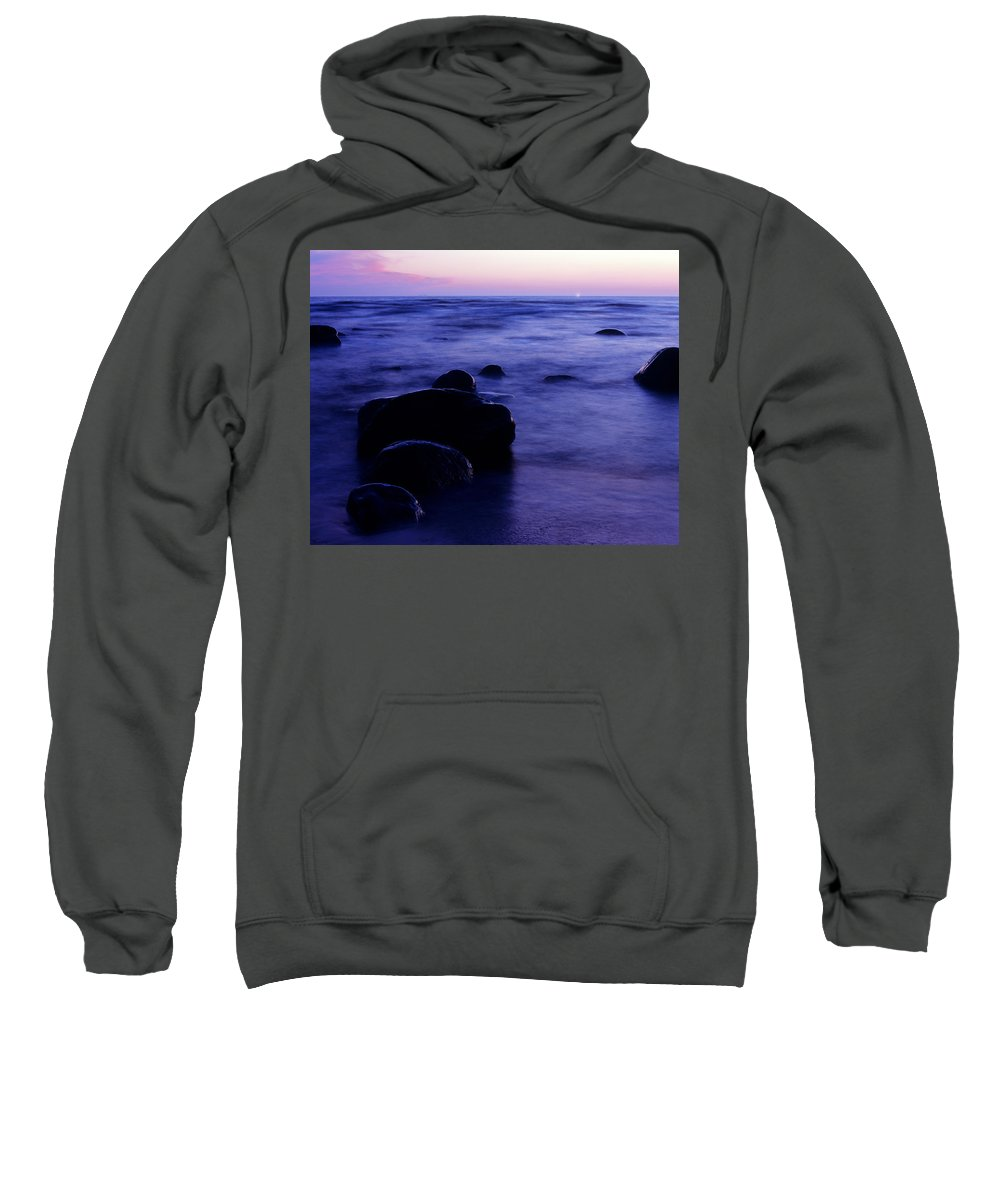 Abstract Sweatshirt featuring the photograph The Evening by Konstantin Dikovsky
