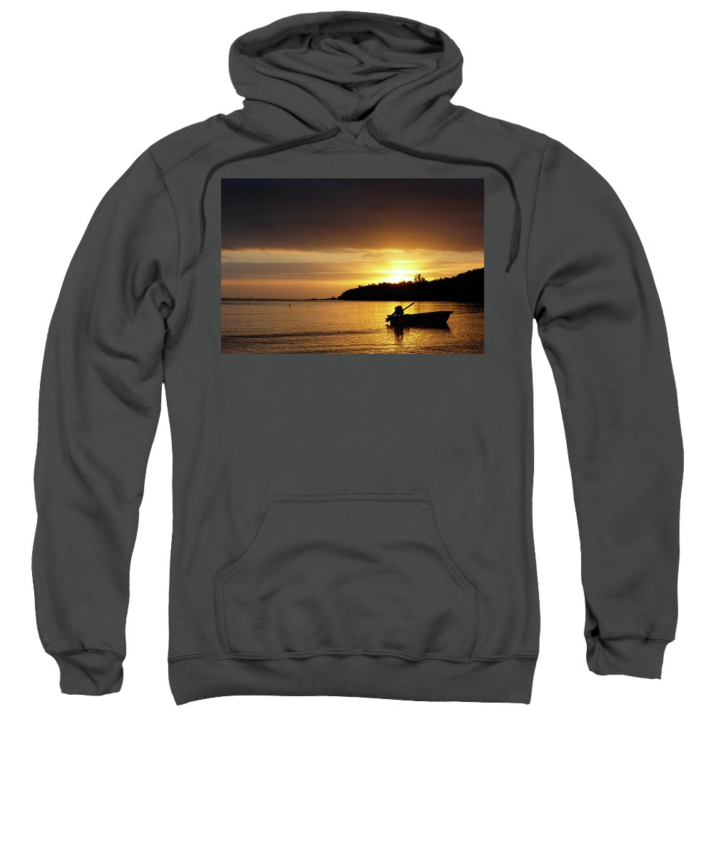 Tropics Sweatshirt featuring the photograph The First Sunrise by Nick Mattea