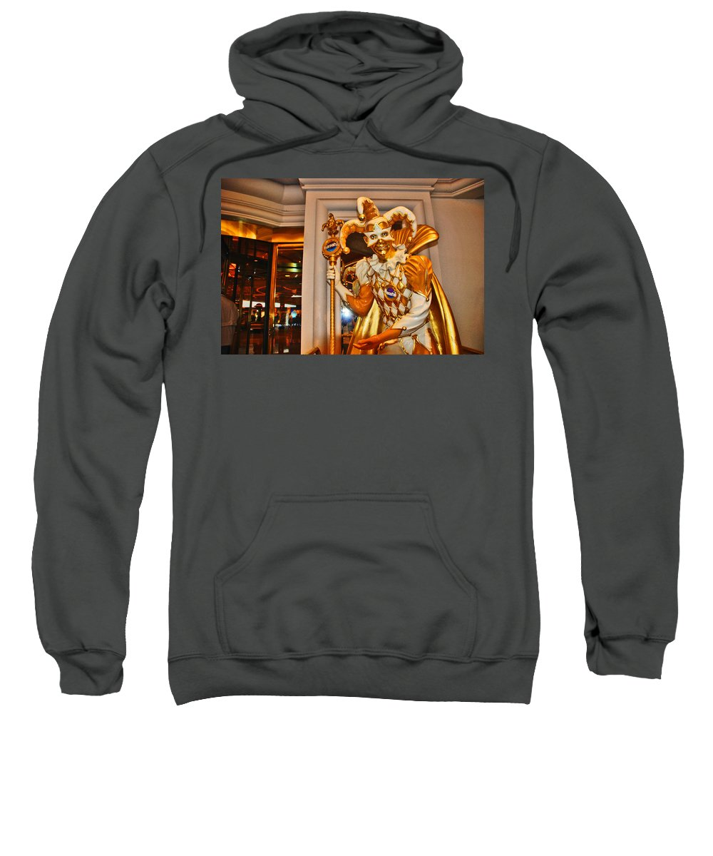Photography Sweatshirt featuring the photograph The Fool by Susanne Van Hulst