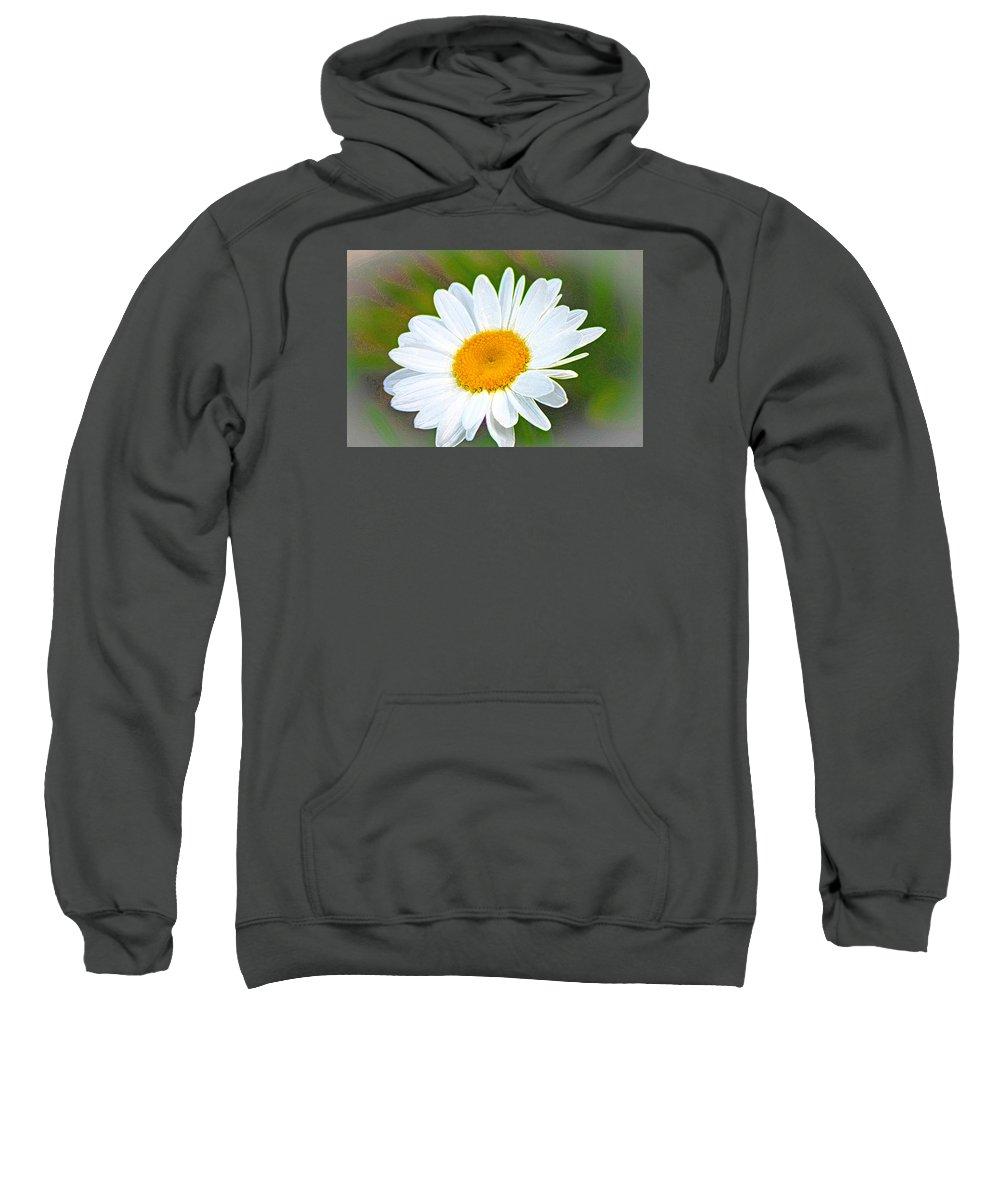 Flower Sweatshirt featuring the photograph The Friendliest Flower by Barbara Dean