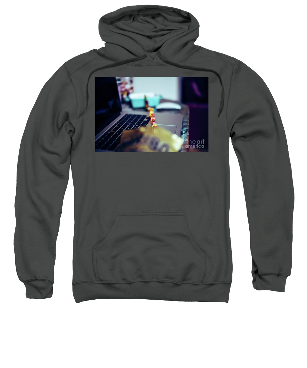 Escape Sweatshirt featuring the photograph The Great Escape by John O'Hara