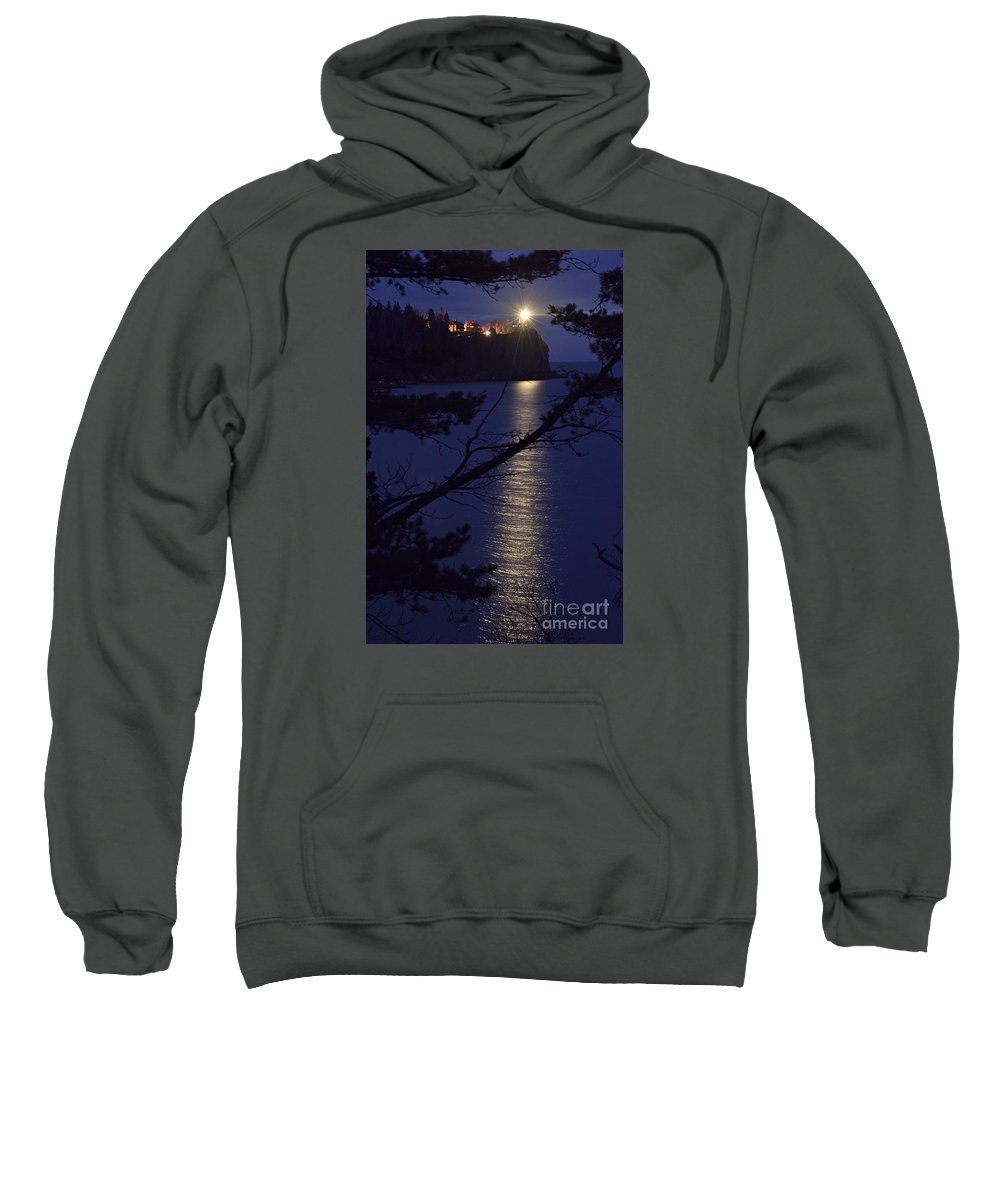Photography Sweatshirt featuring the photograph The Light Shines Through by Larry Ricker