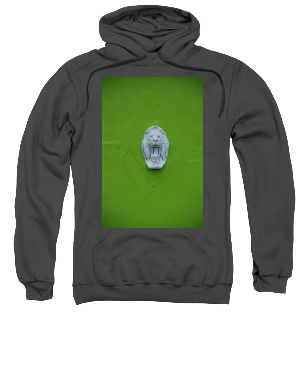 Lion Sweatshirt featuring the photograph The Lion by Rob Hans