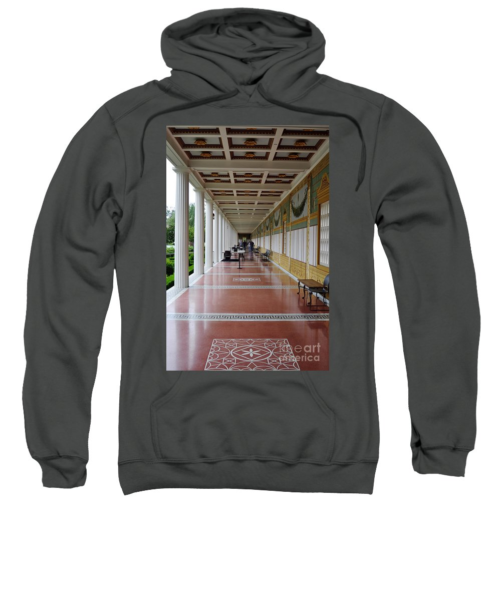 Clay Sweatshirt featuring the photograph The Long Walk by Clayton Bruster