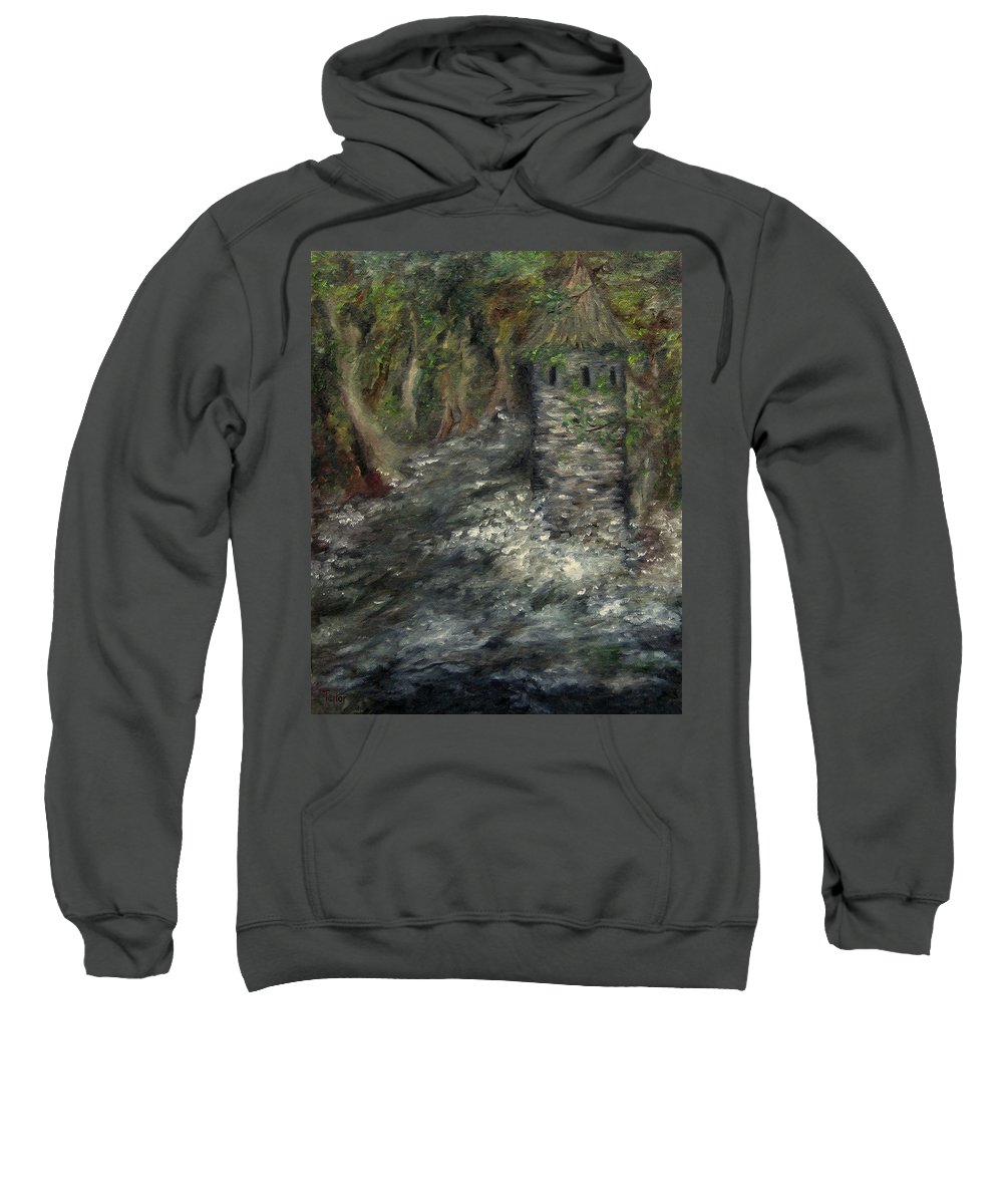 Fantasy Sweatshirt featuring the photograph The Mage's Tower by FT McKinstry