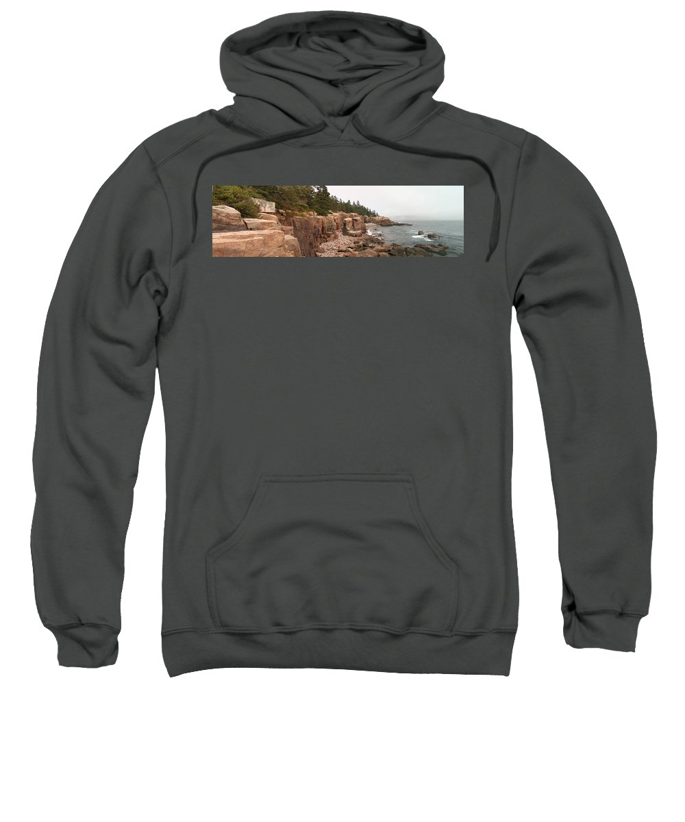 Maine Sweatshirt featuring the photograph The Maine Thing by William Moore