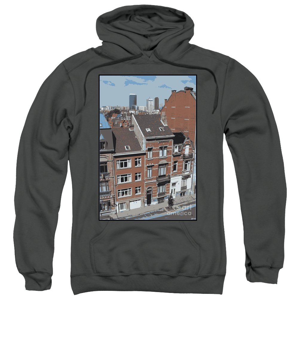 Brussels Sweatshirt featuring the photograph The Many Layers Of Brussels by Carol Groenen