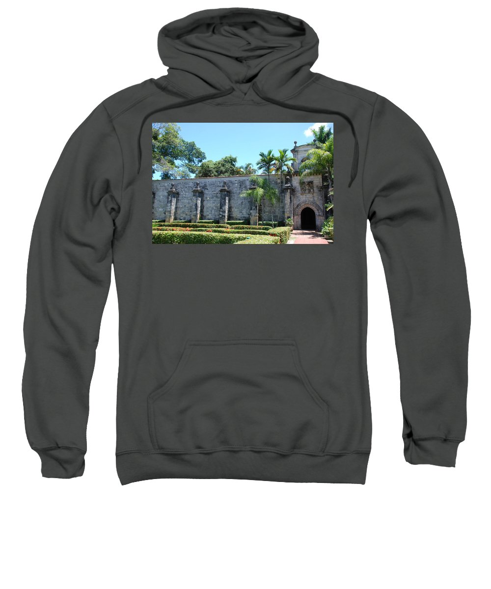 Florida Sweatshirt featuring the photograph The Miami Monastery by Rob Hans