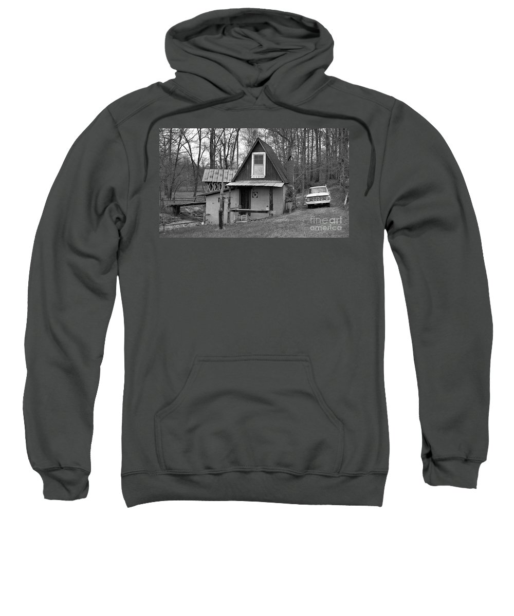 Mill Sweatshirt featuring the photograph The Old Mill by Richard Rizzo