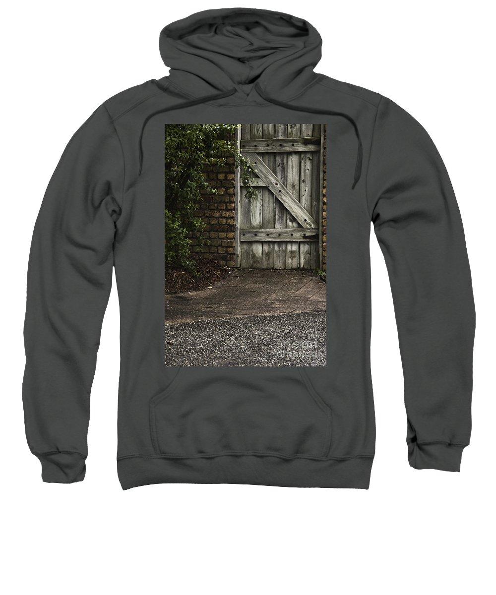 Door Sweatshirt featuring the photograph The Path To The Doorway by Margie Hurwich