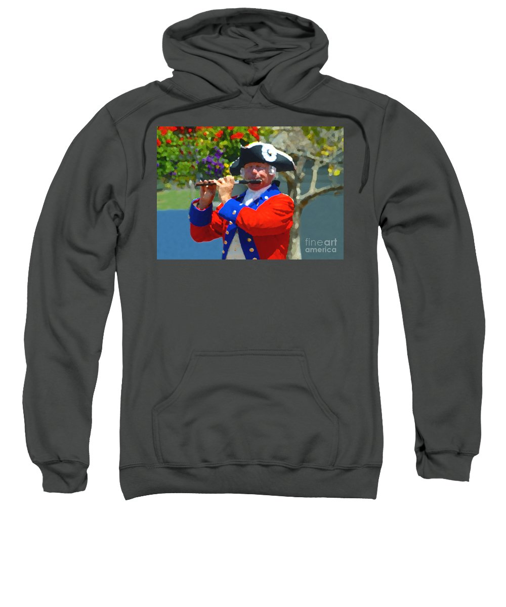 Patriot Sweatshirt featuring the photograph The Patriot by David Lee Thompson