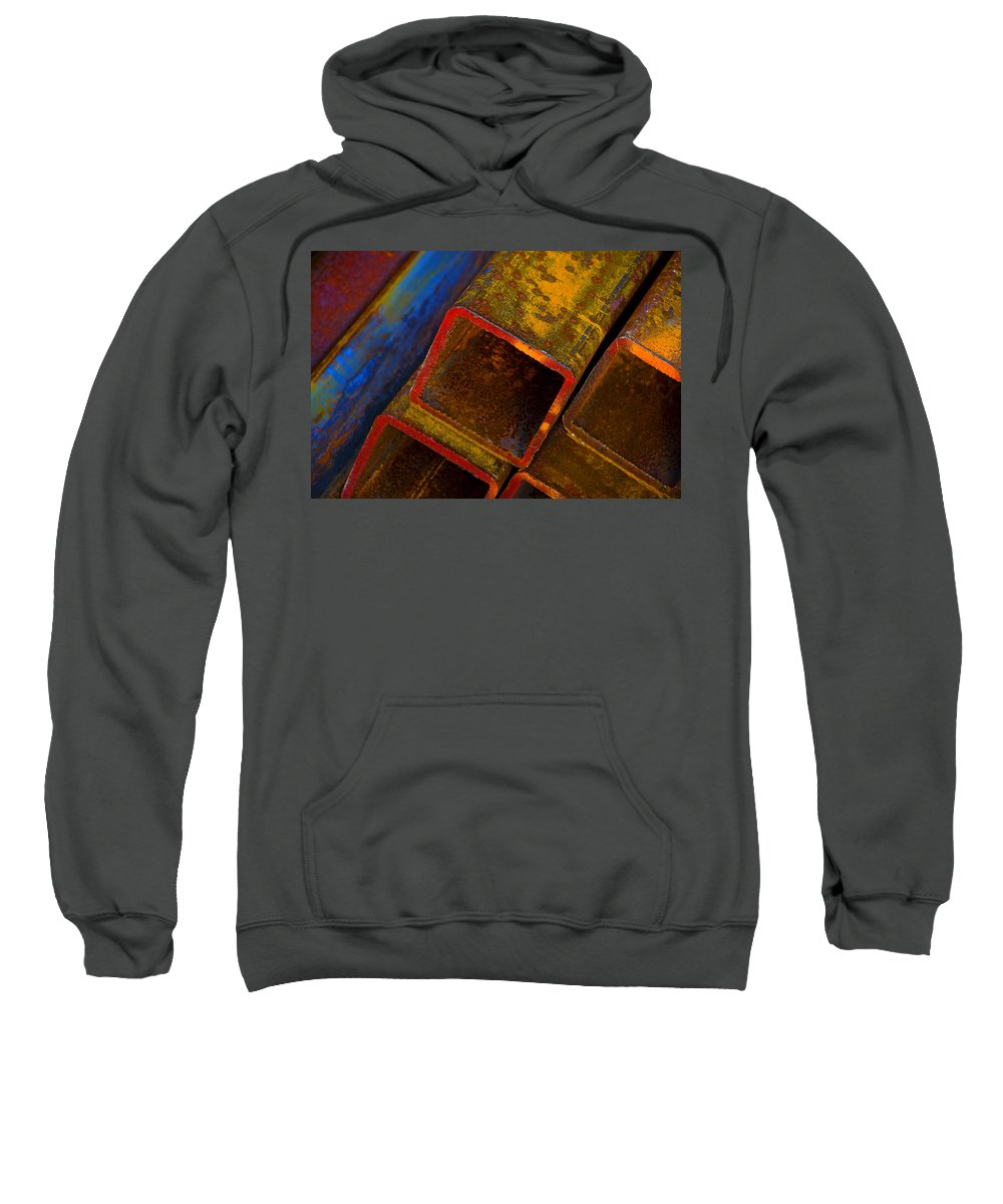 Abstract Sweatshirt featuring the photograph The River by Skip Hunt