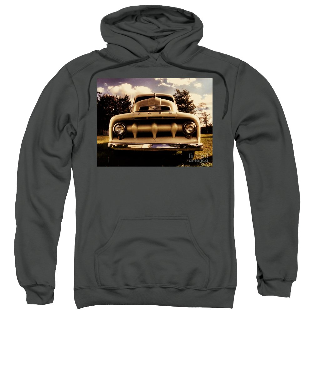 Classic Sweatshirt featuring the photograph The Rizzo Effect Three by September Stone