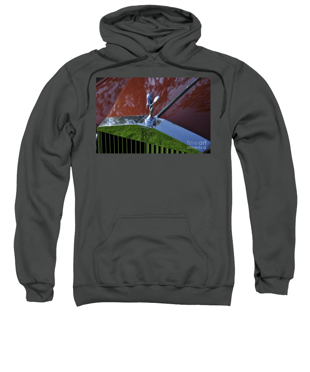 Clay Sweatshirt featuring the photograph The Rolls by Clayton Bruster