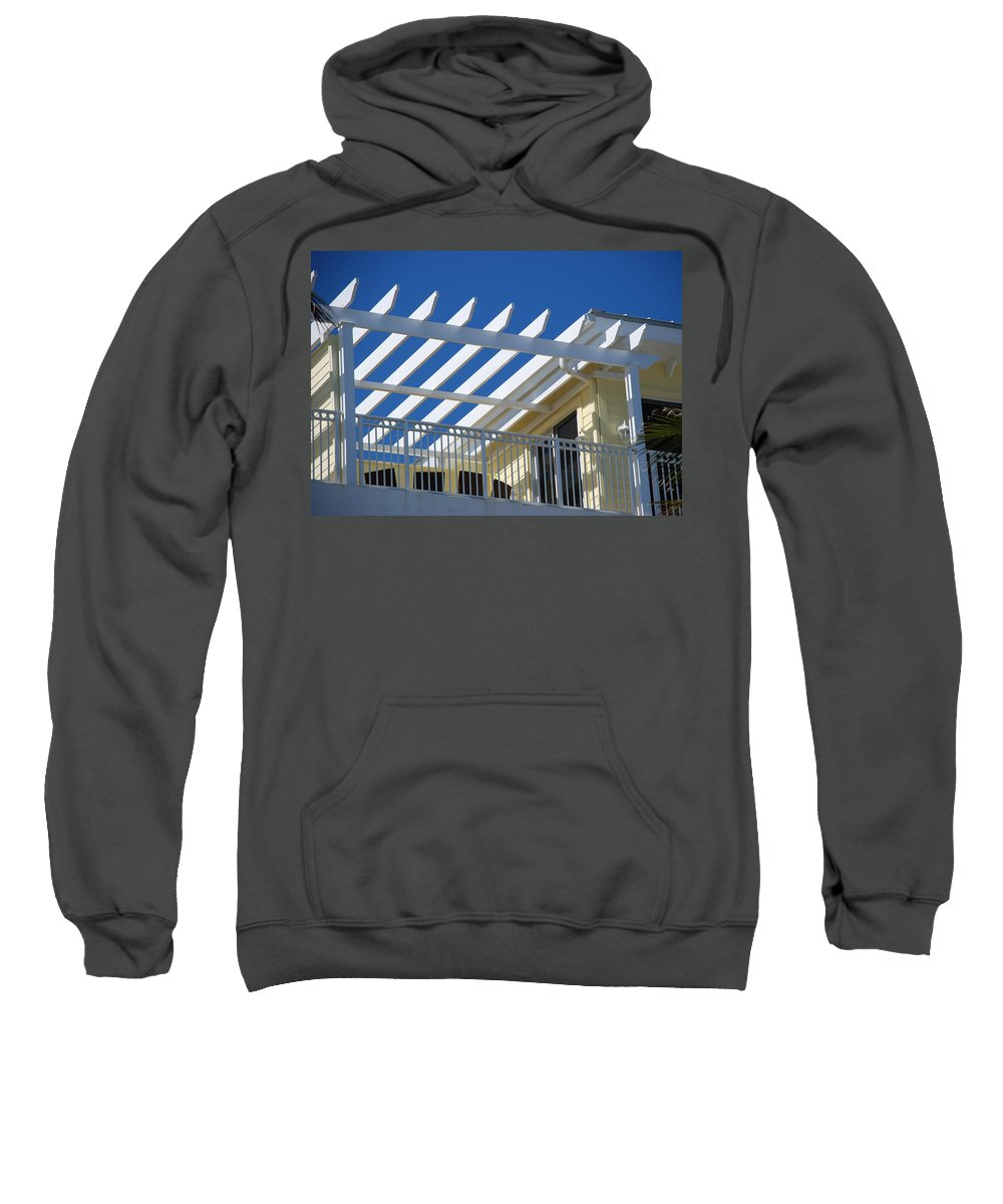 Architecture Sweatshirt featuring the photograph The Slots by Rob Hans