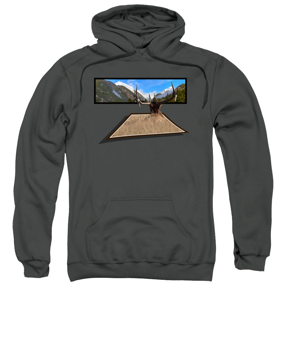 Oof Sweatshirt featuring the photograph The View by Shane Bechler