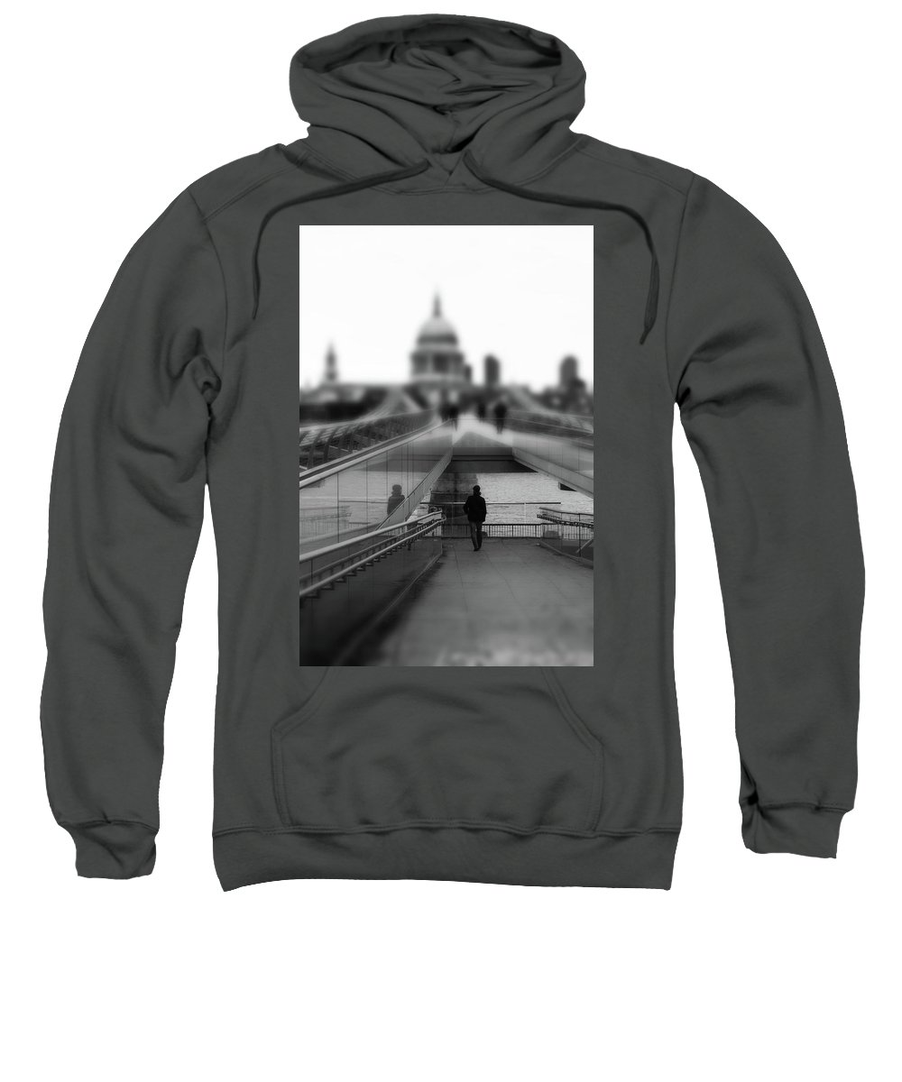 Landscape Sweatshirt featuring the photograph The Walk by Martin Newman
