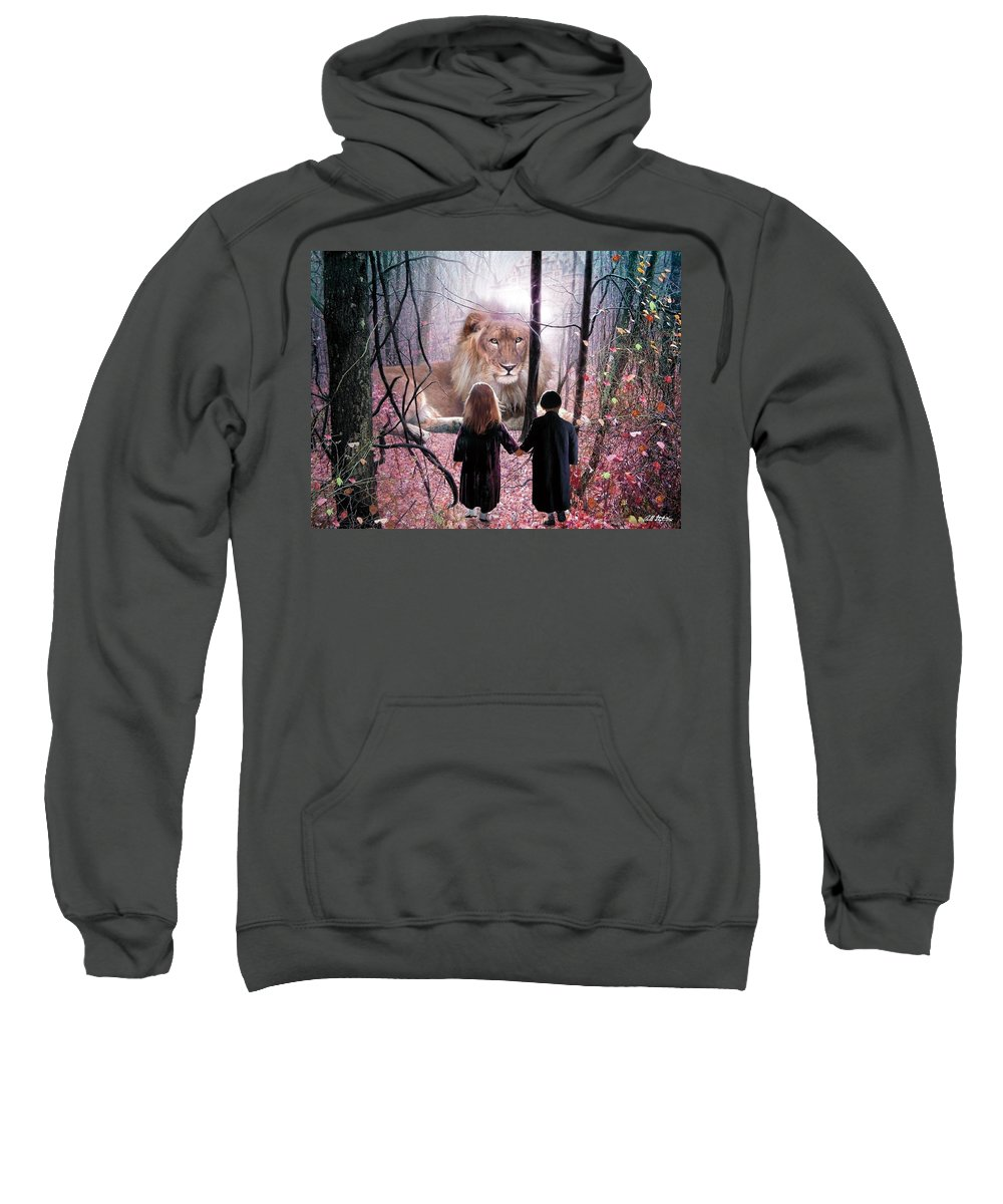 Children Sweatshirt featuring the digital art The Way by Bill Stephens