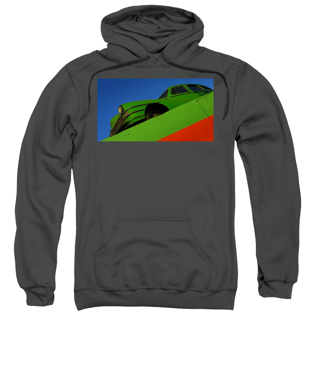 Skip Hunt Sweatshirt featuring the photograph The Way We Roll by Skip Hunt
