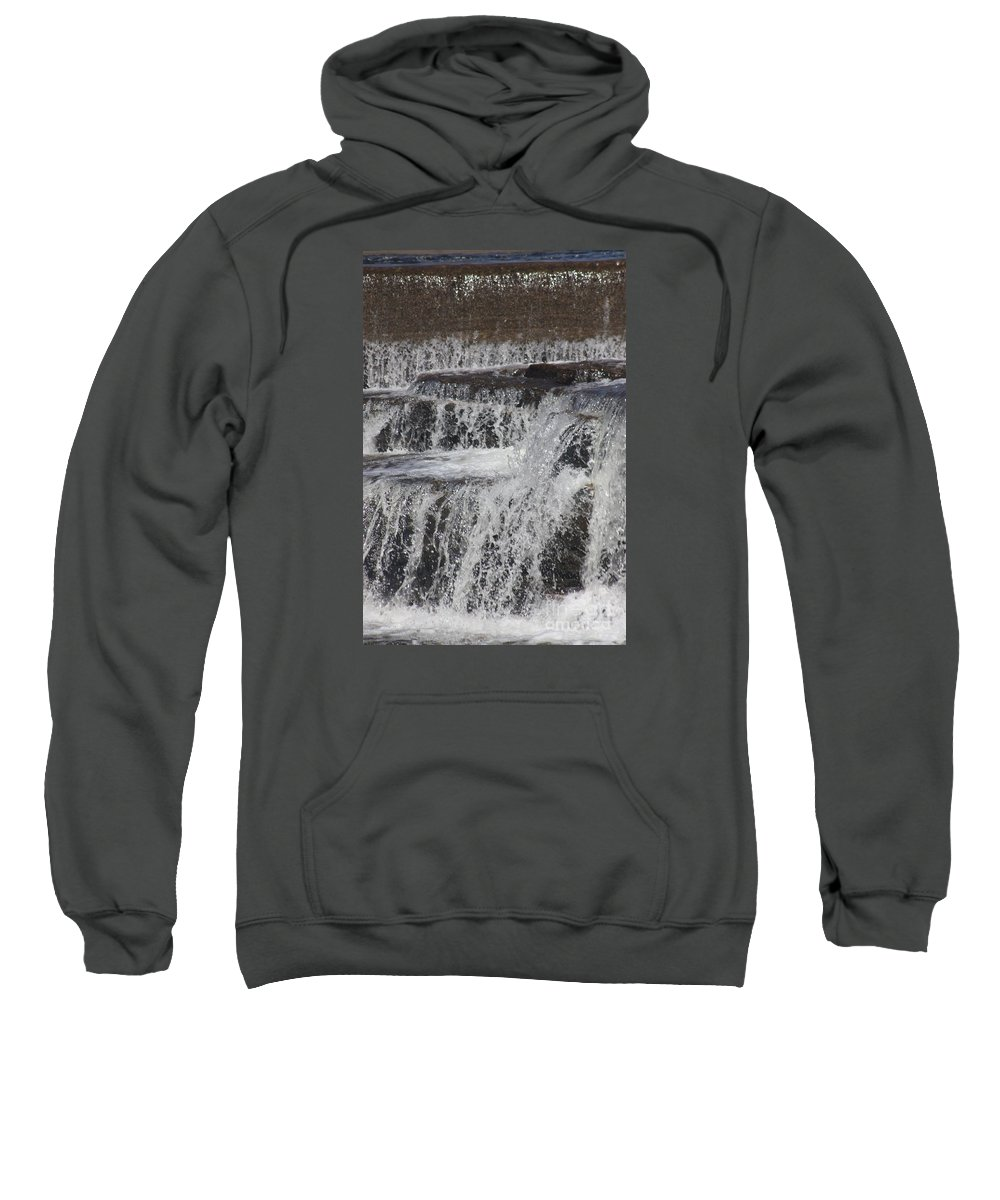 Water Sweatshirt featuring the photograph The Wet Sound Of Gravity by Gordon J Weber