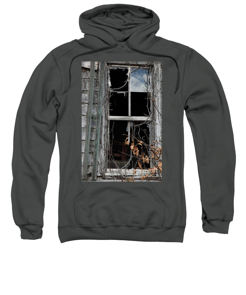 Windows Sweatshirt featuring the photograph The Window by Amanda Barcon