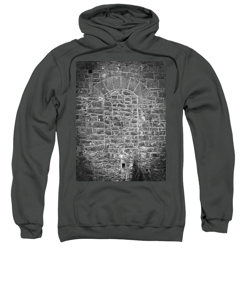 Athlone Sweatshirt featuring the photograph The Window That Once Was by Teresa Mucha