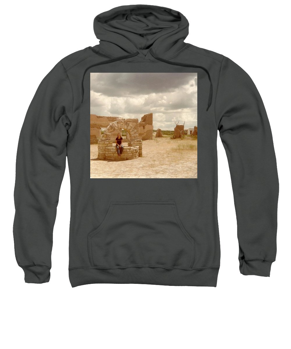 Texas Sweatshirt featuring the photograph The Wishing Well by J L Hodges