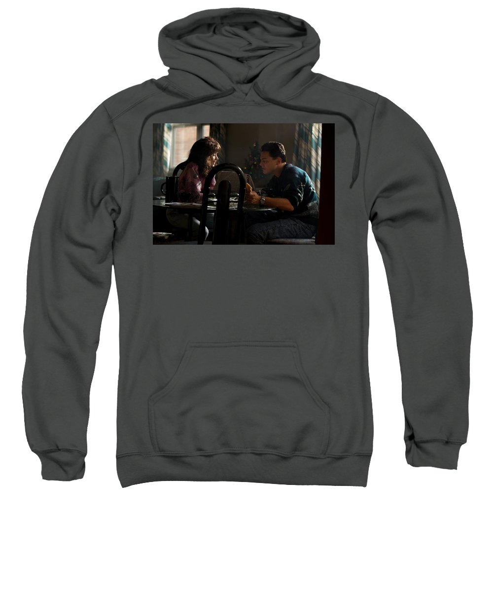The Wolf Of Wall Street Sweatshirt featuring the digital art The Wolf Of Wall Street by Bert Mailer