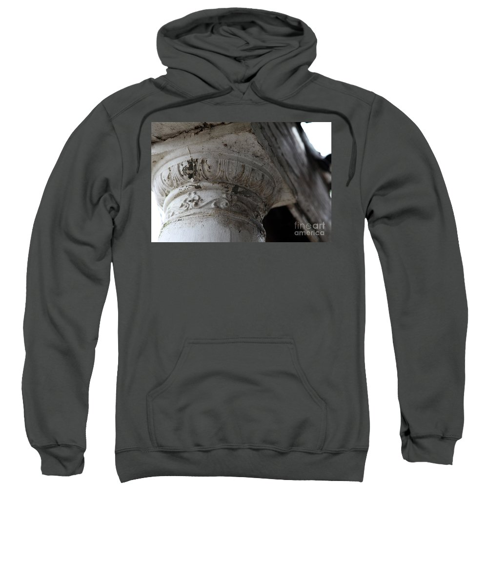 Column Sweatshirt featuring the photograph There For You by Amanda Barcon