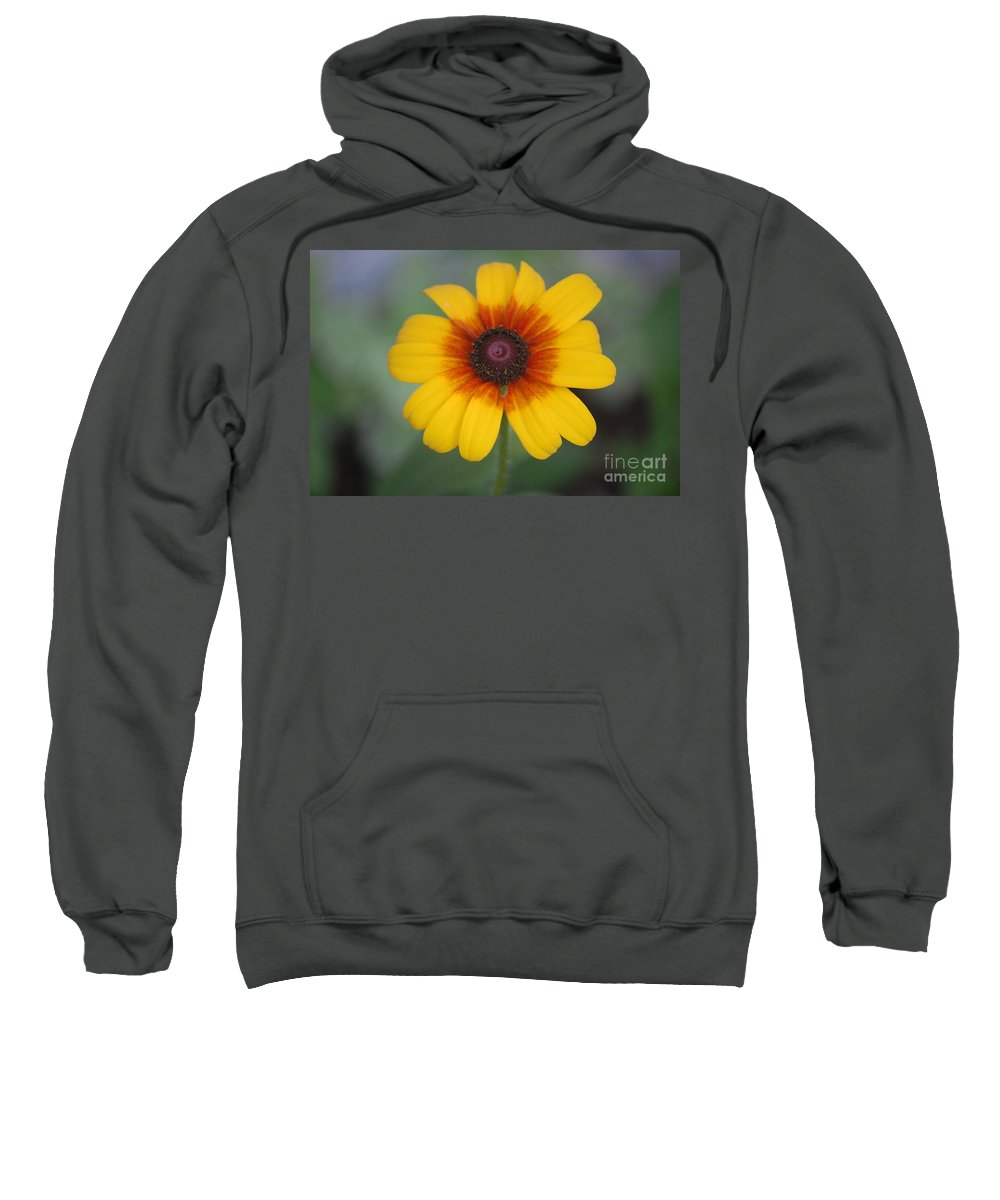 Landscape Sweatshirt featuring the photograph They Call Me Mellow Yellow. by David Lane