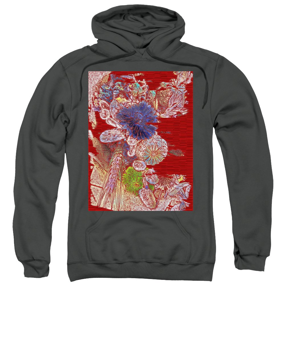 Thirsty Sweatshirt featuring the digital art Thirsty by Tim Allen