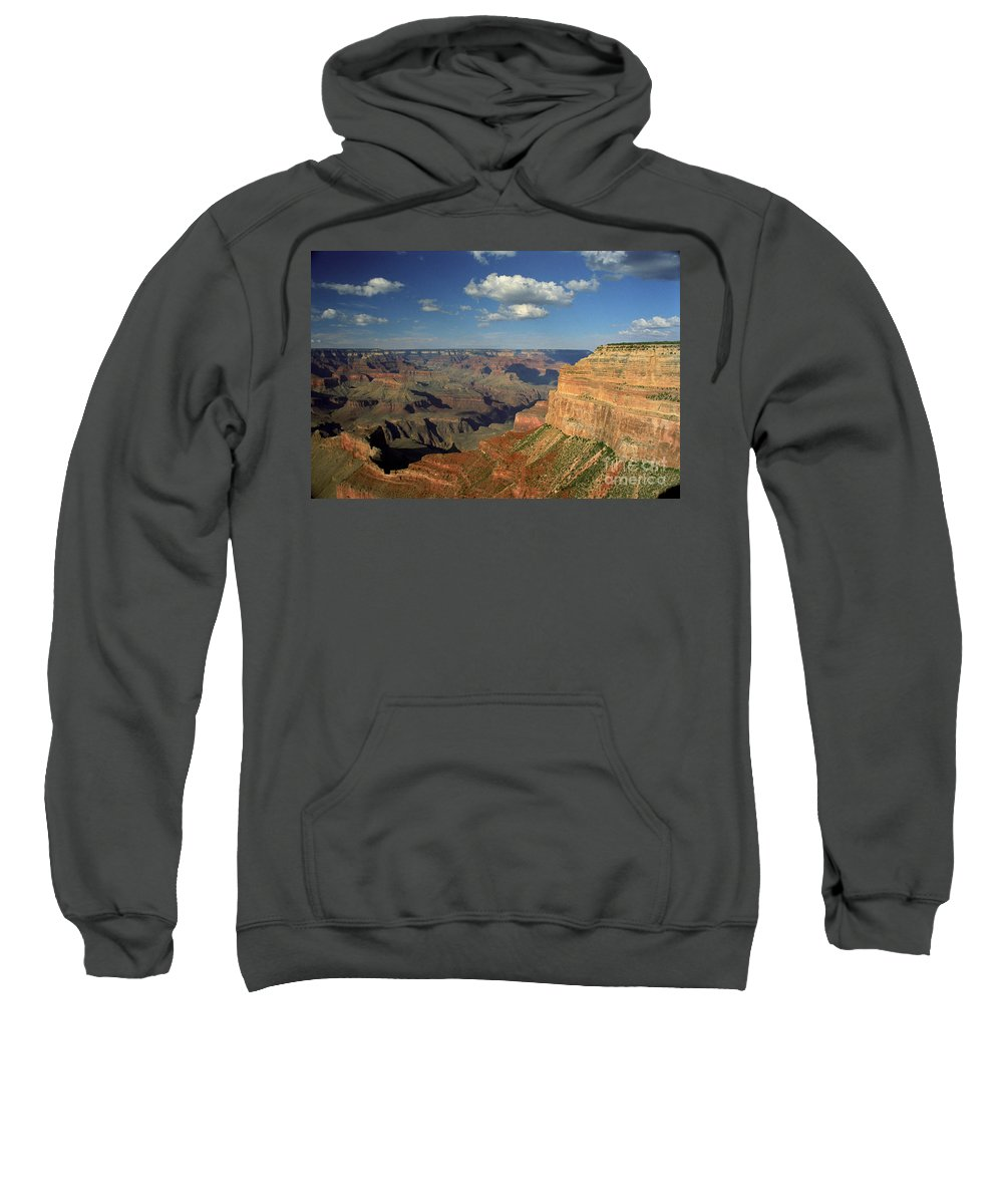 Grand Canyon Sweatshirt featuring the photograph This Is My Father's World by Kathy McClure