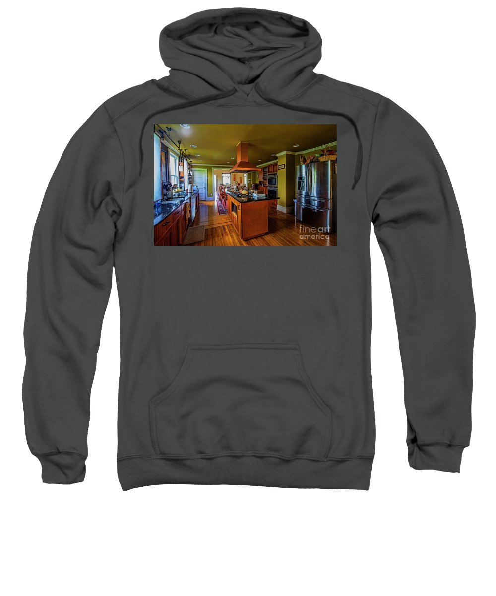 Architectural Interior Photography Sweatshirt featuring the photograph Thomas Kitchen by Doug Berry