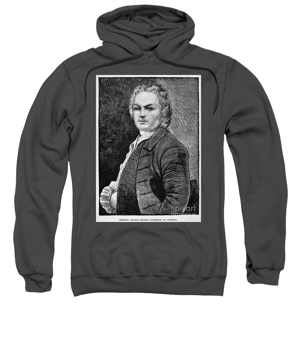 18th Century Sweatshirt featuring the photograph Thomas Nelson, Jr by Granger