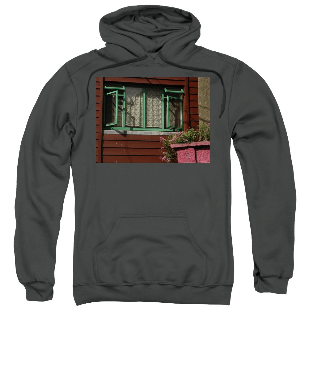 Thomastown Sweatshirt featuring the photograph Thomastown by Kelly Mezzapelle