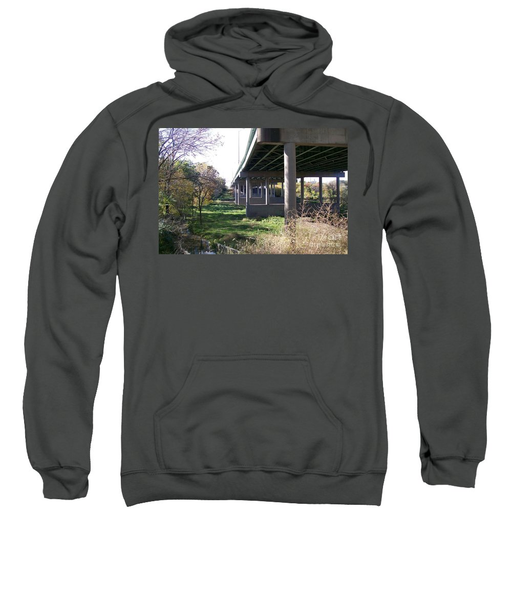 Landscape Sweatshirt featuring the photograph Three Pathways by Stephen King