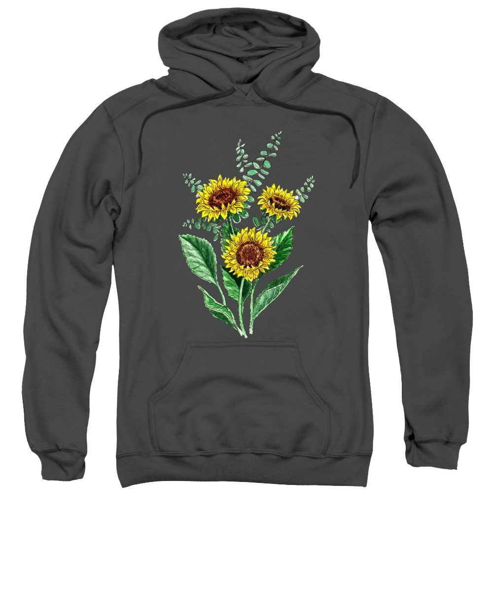 Country Style Hooded Sweatshirts T-Shirts