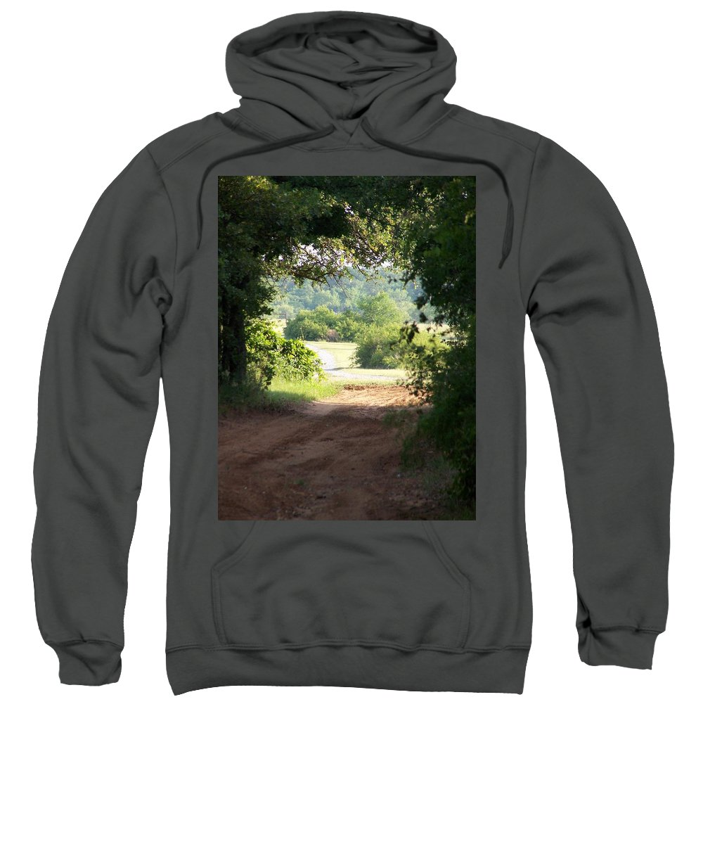 Woods Sweatshirt featuring the photograph Through The Woods by Gale Cochran-Smith