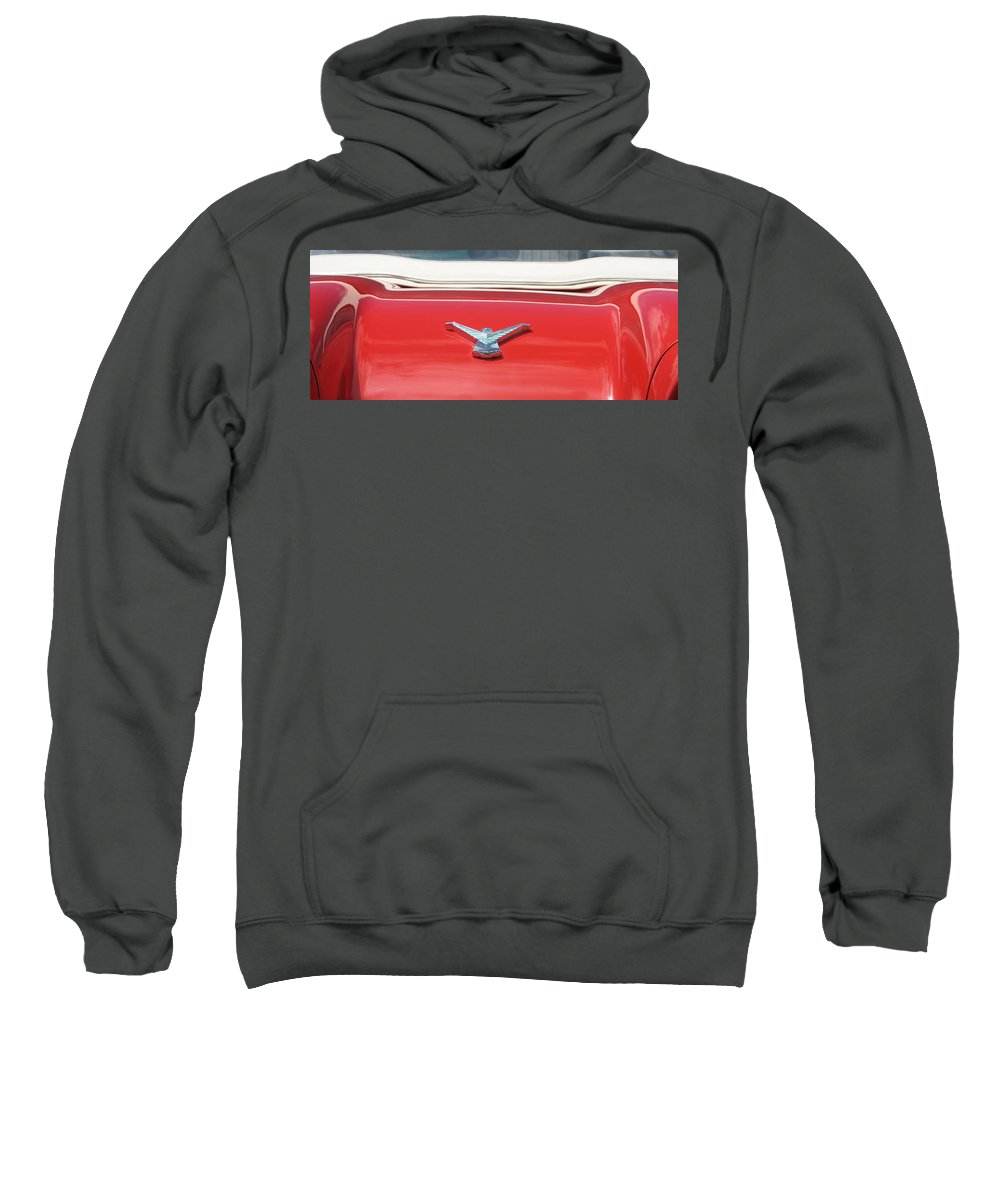 Thunderbird Sweatshirt featuring the photograph Thunderbird by Kelly Mezzapelle