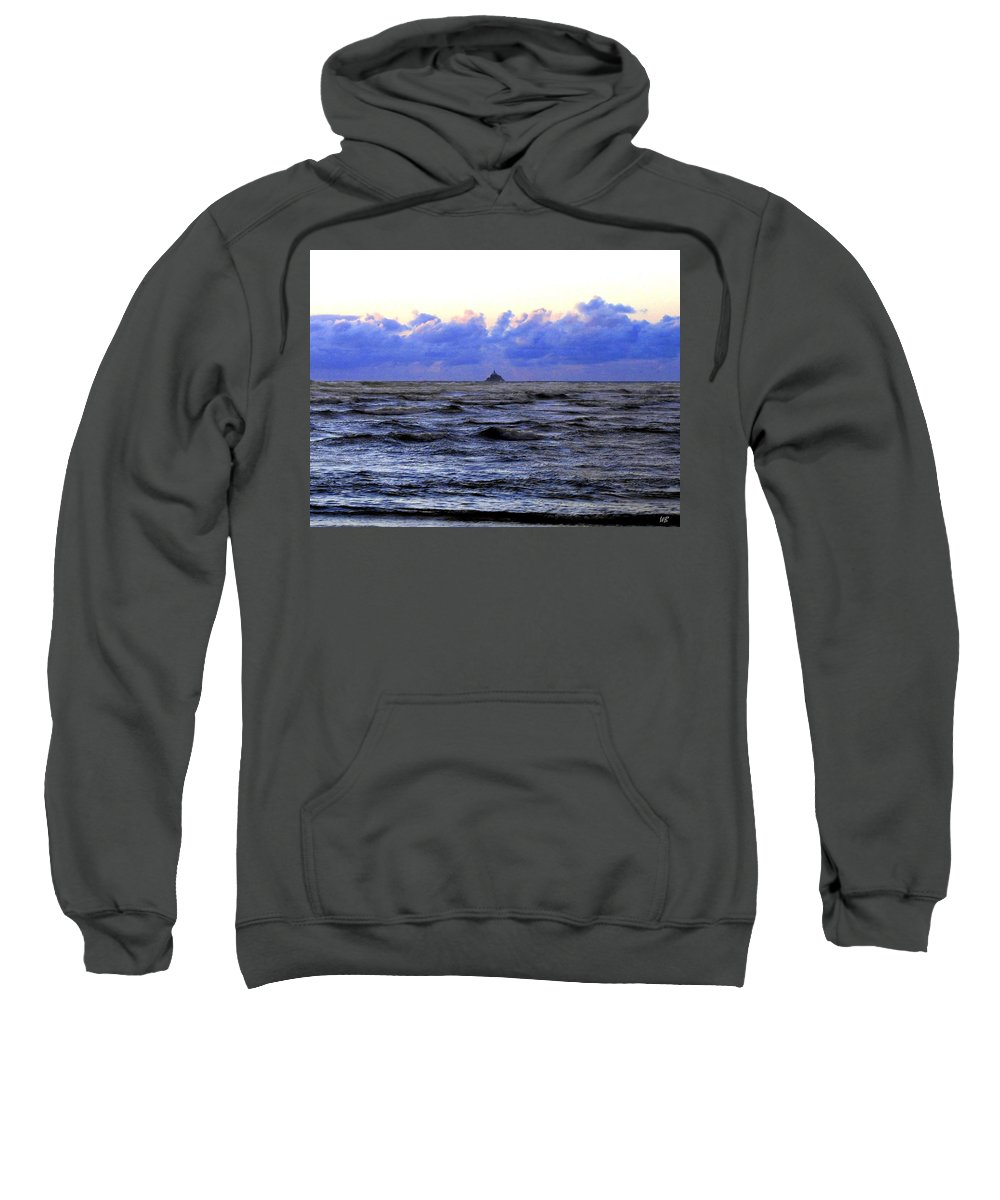 Lighthouse Sweatshirt featuring the photograph Tillamook Rock Lighthouse by Will Borden