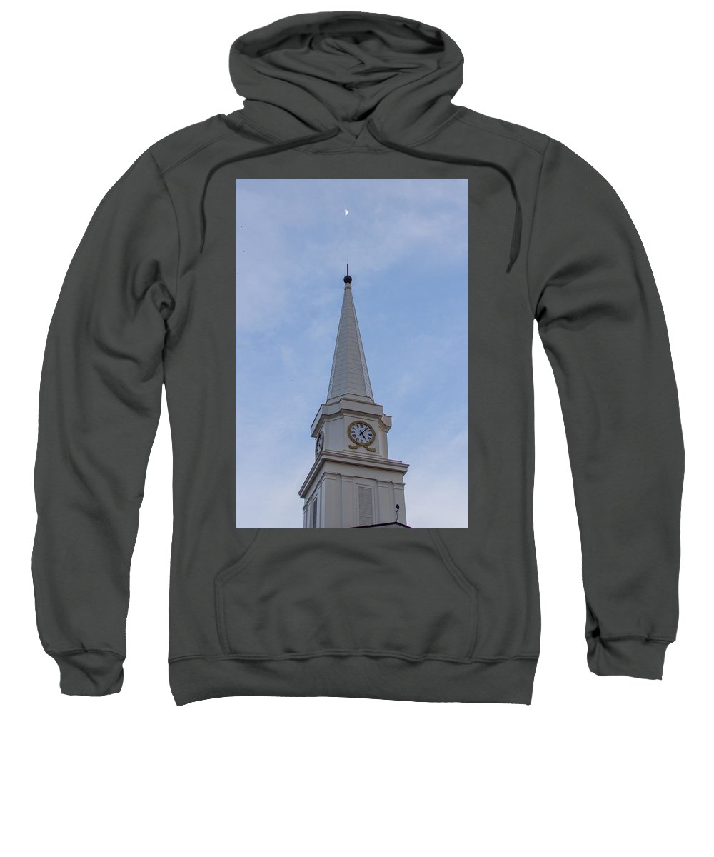 Moon Sweatshirt featuring the photograph To The Moon by Judy Smith