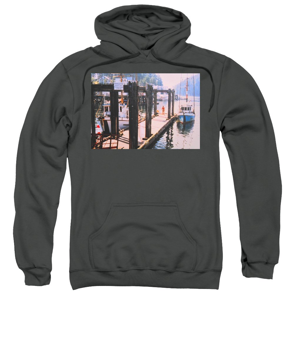 Tofino Sweatshirt featuring the photograph Tofino by Ian MacDonald