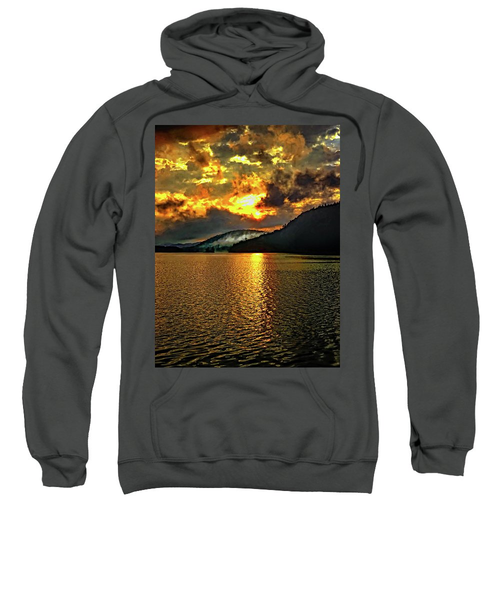Landscape Sweatshirt featuring the photograph Tomorrow's Adventure by Steve Harrington