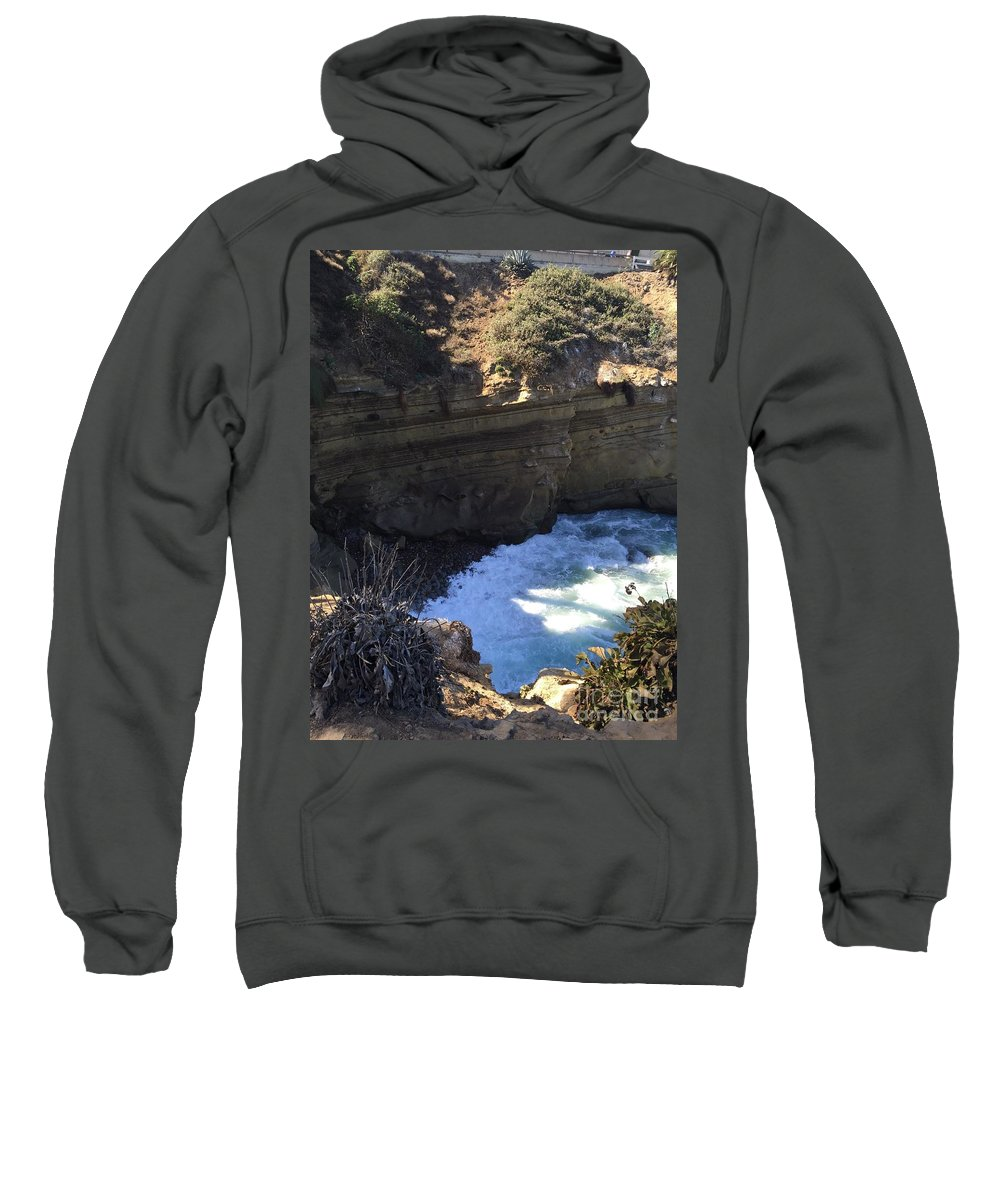 Sweatshirt featuring the photograph Top Of The Cove by T Henderson