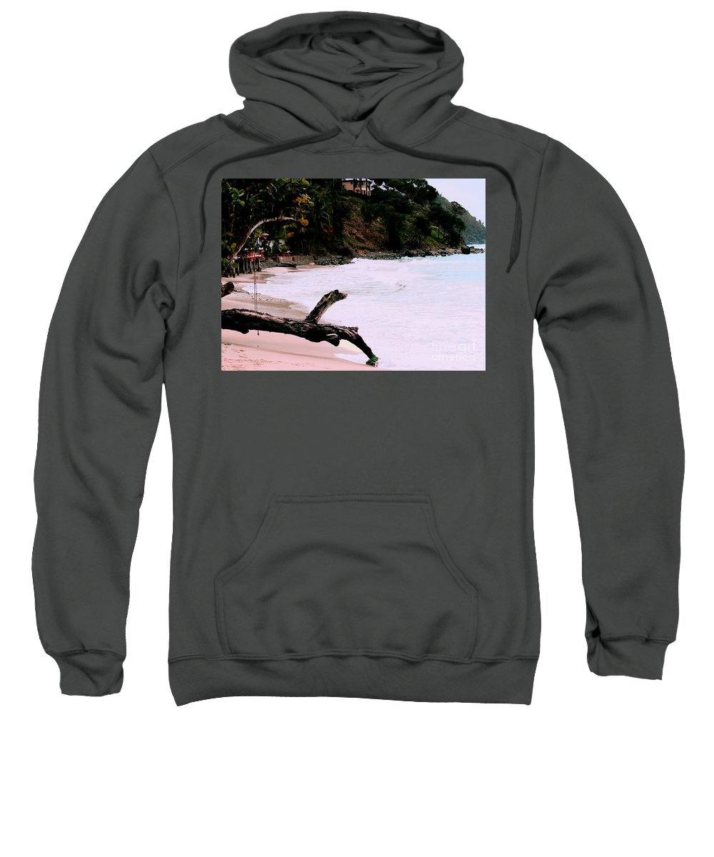 Caribbean Island Photograph Sweatshirt featuring the photograph Tortola Bvi by Tom Prendergast